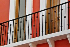 Decorative Iron of North Carolina Inc.  Simple wrought iron railing