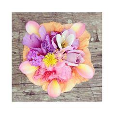 Pretty floral arrangements