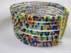 Maasai-Market-African-Handmade-Ethnic-Jewelry-Masai-Bead-Bracelet-Cuff-396-5