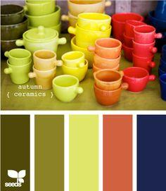 autumn ceramics