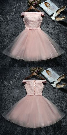 tulle short prom dress, lace homecoming dress shop now The most beautiful and newest outfit ideas co Lace Homecoming Dresses, Grad Dresses, Quinceanera Dresses, Short Dresses, Formal Dresses, Tulle Dress, Lace Dress, Pretty Dresses, Beautiful Dresses