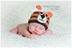 Hey, I found this really awesome Etsy listing at http://www.etsy.com/listing/123663838/auburn-tiger-baby-hat-photography-prop