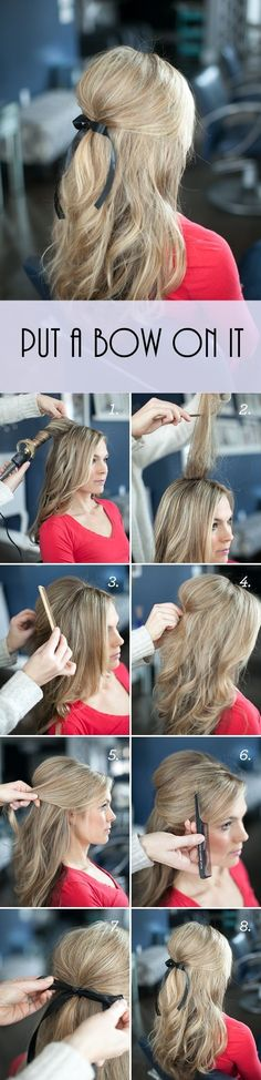 cool 5 step by step romantic hairstyles tutorials for Valentine's day