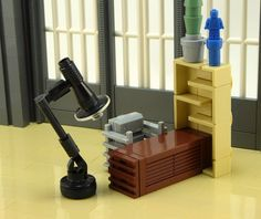 LEGO interior prompts nostalgia for Modernism