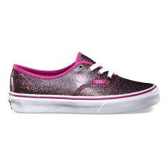 Vans Girls Authentic Iridescent Glitter now in at Getbusy - http://www.getbusystore.com/products/vans-authentic-iridescent-glitter-blue-true-white