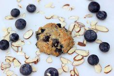 Grain-Free Blueberry Almond Breakfast Cookies