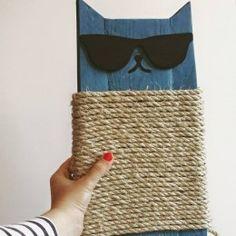 Cat Scratcher, Animal House, Pet Store, Fur Babies, Straw Bag, Sunglasses Case, Diy Crafts, Clinic, Handmade