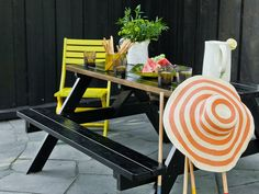 Paint your garden furniture / Photo: ifi.no