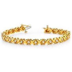 Diamantschmuck kaufen  Diamantarmband 1.00 Karat aus 585er/750er Gelb- oder Weißgold http ...