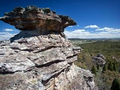 It's an easy hike along Castle Rocks walk to the lookout for wonderful scenic views of the sandstone pagoda features found at Munghorn Gap Nature Reserve. Castle Rock, Nature Reserve, Newcastle, National Parks, Scenery, Rocks, Wildlife, Coast, Walking