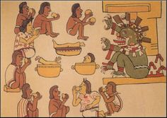 Descrption of ancient Aztec Indian Foods