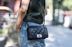 TheyAllHateUs the Chanel boy bag