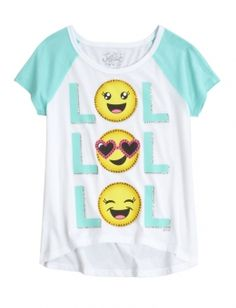 Shop Graphic Baseball Tee and other trendy girls tops clothes at Justice. Find the cutest girls clothes to make a statement today.