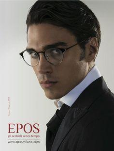 Giuseppe Maggio for #Epos Eyewear! (Vogue Accessory, December 2015)