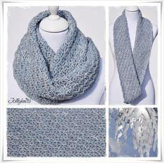 Häkelanleitung Loop Icestar / Crochet Pattern Cowl Icestar