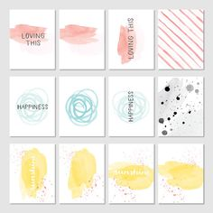 Memories in the Making Project Life Card Collection by Stampin' Up!