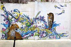 Paris 20 - rue Laurence Savart - street art - mosko et associés & ?