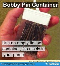 Hair - Bobby Pin Container