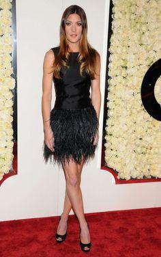 Jennifer Carpenter - 2012 QVC Red Carpet Style