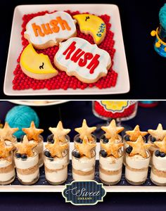 Goodnight Moon baby shower by HWTM & free printables