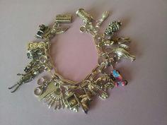 My Sterling silver charms bracelet