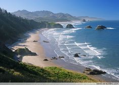 Oregon Beach. I think they have the best beaches and access anywhere except maybe for Hawaii.