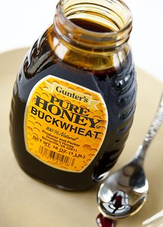 Buckwheat honey -- Cure for: Coughing  In a study at Pennsylvania State University, 2 teaspoons of thick, dark brown honey were more effective than OTC cough medicines at limiting the severity and frequency of a cough in children. Honey's antioxidants and antimicrobial properties may soothe inflamed throat tissues, says John La Puma, MD, director of Chef Clinic in California.