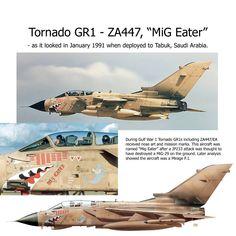"Tornado GR1 ZA447 ""Mig Eater"""