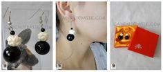 Boucles d'oreilles ethniques - BO 09 - Cadeaux d'Asie