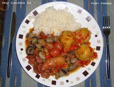 Island Food, Coco, Caribbean, Shrimp, Good Food, Culture, Chicken, Meat, Vegetables