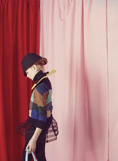 Milk Magazine - Photo Melanie Rodriguez -Style Helene Lahalle- set design Lucille Michieli -
