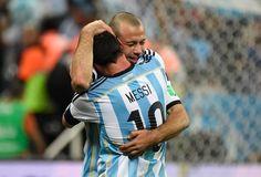 """20 fotos para recordar un gran festejo y la frase de Javier Mascherano: """"Hoy te convertís en héroe"""""""