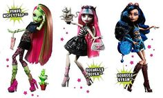 2012 monster high i have rochelle goyle but none of the others