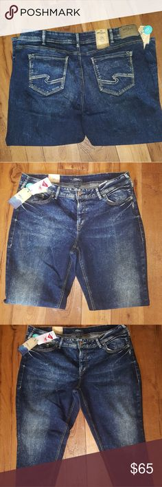 Silver Jeans Silver Suki Skinny Perfectly Curvy Mid Rise Jeans Silver Jeans Jeans Ankle & Cropped
