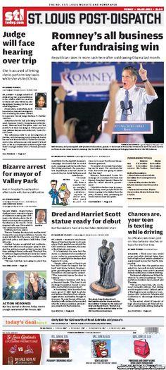 St. Louis Post-Dispatch June 8th, 2012  #St. Louis