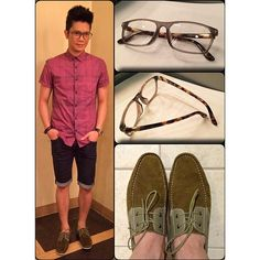 #Shorts # Shoes #Shades #VhongNavarroFashion Vhong Navarro, Boat Shoes, Eyewear, Ootd, Shades, Instagram Posts, Fashion, Moda, Eyeglasses