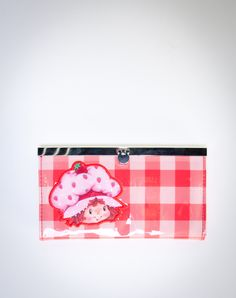Strawberry Shortcake 'Plaid' Fliplock Wallet