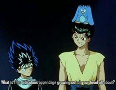 Hiei is awsome! I Love Anime, All Anime, Anime Guys, Yu Yu Hakusho Anime, Otaku, Japanese Animated Movies, Yoshihiro Togashi, Kaichou Wa Maid Sama, Anime Japan