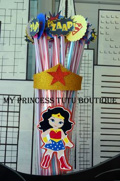 Wonder Woman birthday party ideas.