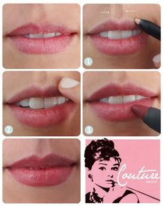 maquillaje de labios gruesos paso a paso - Buscar con Google