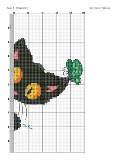 ampliar Critters 3, Little Critter, Counted Cross Stitch Patterns, Knitting, Bead, Dogs, Cross Stitch, Gatos, Punto De Cruz