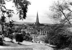 Bakewell, All Saints Church c.1955, from Francis Frith