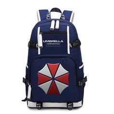 Resident Evil Protective Umbrella Shoulders Backpack. New Resident Evil  Protective Umbrella Shoulders Backpack Men Women High School Leisure Laptop  Travel ... 04b0710cabac9