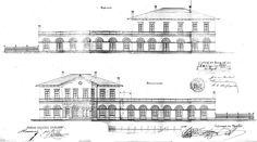 Nedostavěná železniční trať Opava - Fulnek 1873 - 74 - Fotoalbum - Plány - Plány stanic