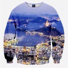 3d hoodies hip hop printed sweatshirt