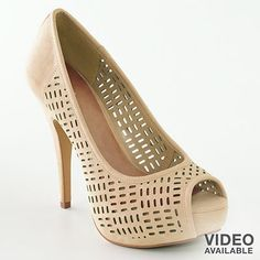 Tried these on at Kohls.  LOVED them...need some nude-colored heels for the summer:)