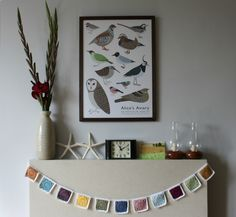 Tales from a happy house.: On The Mantel: September