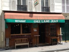 Chez L'Ami Jean, located in a tiny side street in the bourgeois 7th is the quintessential chef's bistro: cramped, noisy, and impossible to book at the last minute. Stéphane Jego, one of the best and most generous chefs in the city, gives his all at one of the most personal and iconoclastic places to eat in town.