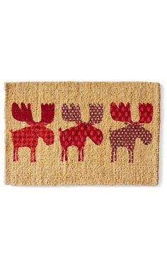 Garnet Hill Doormat Collection  sc 1 st  Pinterest & Threshold - Doormat Palm Fronds Coir Green 18x30 $12.99 target ...