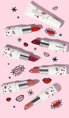 Shop Holiday Lipstick Mattifier Set Email GIF inspiration www.it Federica Bonfanti / Creative Designer / Photographer / IG bonfanti. Cosmetic Packaging, Beauty Packaging, Email Gif, Email Design, Web Design, Feeds Instagram, Smashbox Cosmetics, Lipstick For Fair Skin, Makeup Package